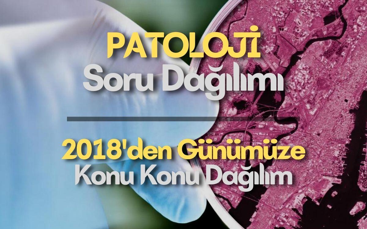 Patoloji Soru Dağılımı | KONU KONU Dağılım