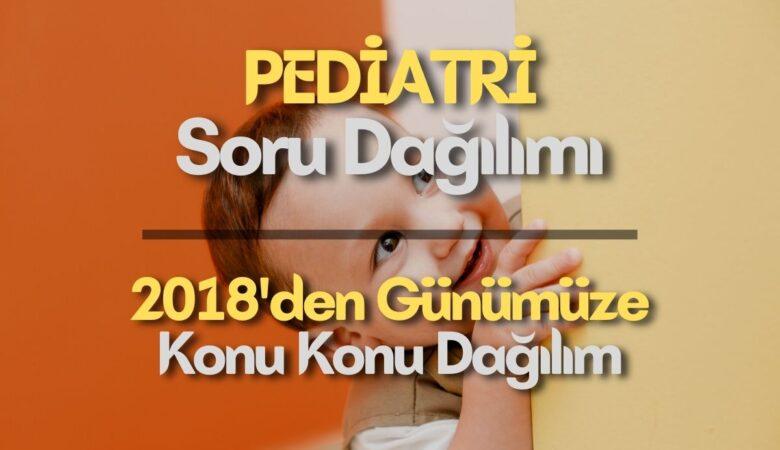 Pediatri Soru Dağılımı | KONU KONU Dağılım